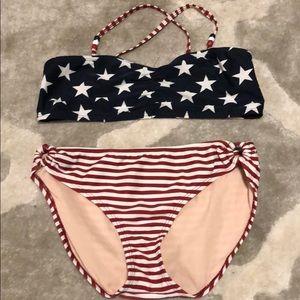 Old Glory Bikini Girls Size 14/16